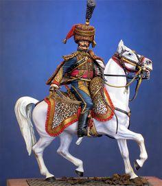 Colonnello del 5 rgt. Ussari francese