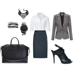 LaSalle Street, created by kat-alterego on Polyvore