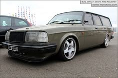 Bryn's supercool #Volvo 240 Wagon.