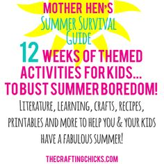 Mother Hen Summer Survival Guide 2016