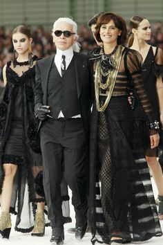 """""""You can see who has the real power in Paris,"""" one retailer remarked as we took our seats along with nearly 3,000 others in the Grand Palais for Chanel's S"""