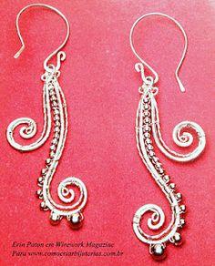 wirework earrings tutorial