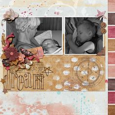I used We are the Dreamers by Digital Scrapbook Ingredients, Krystal Hartley and Captivated Visions. Template is Fuss Free Freebie #137 by Fiddle Dee Dee Designs.