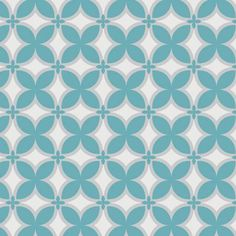 SALE! Teal Trellis, 2142301-TEAL, Yardage, Rise & Shine Collection, Camelot Fabrics