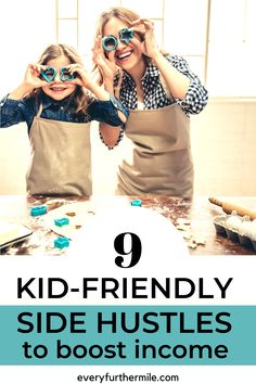 Side hustles are a great idea to boost your income, but as a mom it can be hard to take more time from your children. Learn how you can make some extra money while encouraging your own kidpreneur with these great kidpreneur ideas and activities. Make More Money, Extra Money, Instagram Influencer, Pinterest For Business, Creating A Blog, Work Travel, Women Life, Blogging For Beginners, Girl Boss