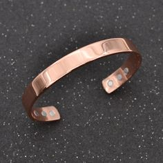 Unisex Magnetic Copper Bangle Bracelet Healing Bio Therapy Arthritis Pain Relief Jewelry