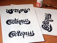 Octopus pathfinder #typography #design #inspiration