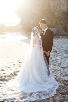 Laguna Beach Inspirational Bridal Shoot  | see more on thesocalbride.com