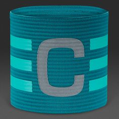 adidas FB Captains Armband - Equatic Green/Shock Mint/Reflective