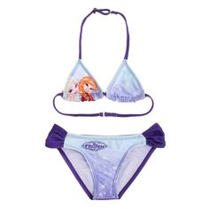 Costum de baie bikini Disney Frozen mov Disney Frozen, String Bikinis, Costumes, Swimwear, Shopping, Fashion, Lilac, Clothing, Dental Floss