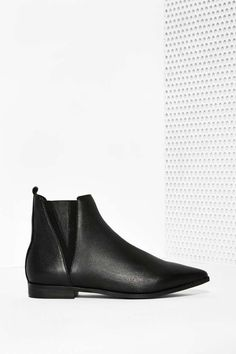 Jeffrey Campbell Harvell Leather Ankle Boot