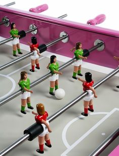 Introducing 'Ella', The First Foosball Table Featuring All-Female Teams