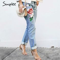 Price $31.49 Simplee Floral embroidery jeans female Winter zipper straight denim pants jeans women Fashion pocket light blue trousers jeans     Tag a friend who would love this!       Buy one here---> https://www.fashiondare.com/simplee-floral-embroidery-jeans-female-winter-zipper-straight-denim-pants-jeans-women-fashion-pocket-light-blue-trousers-jeans/