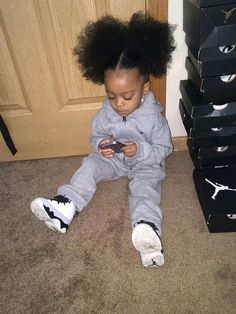 Ideas For Baby Fever Mems Parents Cute Mixed Babies, Cute Black Babies, Black Baby Girls, Beautiful Black Babies, Cute Little Girls, Cute Babies, Beautiful Children, Mixed Baby Boy, Baby Boy Swag