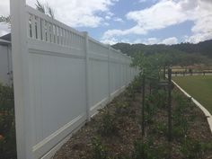 White PVC Privacy Screen Australian Made Australia Wide Delivery Composite Fencing, Fence Ideas, Beach House, Delivery, Australia, Outdoor Decor, Home, Design, Fence