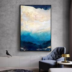 Abstract Modern Dreamy Color Canvas Painting Fashion Golden Poster And Print For Living Room Asile Bedroom Wall Art La imagen HD Living Room Pictures, Wall Art Pictures, Canvas Art Prints, Canvas Wall Art, Asile, Nordic Art, Fashion Painting, Art Mural, Living Room Art