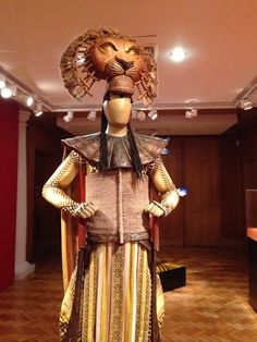 Mufasa's Costume on Lion King doing it Broadway Style :) ❤