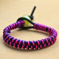 How to Make Simple DIY Leather Cord Bracelet in 3 Steps by Your Own Diy Bracelets Easy, Paracord Bracelets, Bracelets For Men, Handmade Bracelets, Wrap Bracelets, Friendship Bracelets With Names, How To Make Leather, Leather Cord Bracelets, Bracelet Patterns