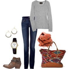 Replace those booties with some tall brown riding boots and we're in business.