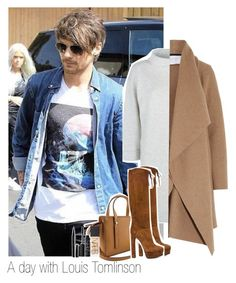 """A day with Louis Tomlinson"" by thebestofcelebrities ❤ liked on Polyvore featuring Jaeger, Casadei, Harris Wharf London, NARS Cosmetics, Marc Jacobs, OneDirection, louistomlinson and directioner"