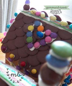 Gemmerbroodhuisies   Mamma Bende Cake, Desserts, Food, Pastel, Deserts, Kuchen, Cakes, Dessert, Meals