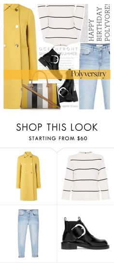 """""""Celebrate Our 10th Polyversary!"""" by valentin-bossio ❤ liked on Polyvore featuring L.K.Bennett, MANGO, Maison Margiela, Oris, polyversary and contestentry"""
