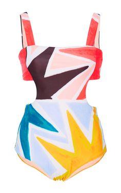 Superstar Printed Swimsuit