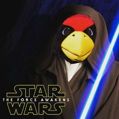 Bet you didn't know Reggie has completed his Jedi training! Don't miss a a chance to hang with him on the field tonight at Hancock Stadium and catch a free showing of Star Wars: The Force Awakens! Gates open at 6 p.m. and the movie starts at 7 p.m. #BacktheBirds