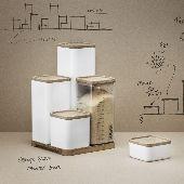 RIG-TIGAufbewahrungsbox 10 x 10 x 5,5 cm - Troels Seidenfaden - Stelton - RoyalDesign.de
