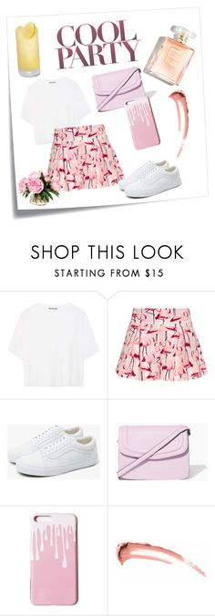 """""""#19"""" by marglova on Polyvore featuring Post-It, Vince, RED Valentino, Vans, Summer, Spring, Pink, look and party"""