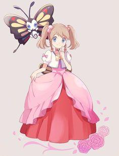Dawn from Pokemon Diamond and Pearl Gijinka pokemon