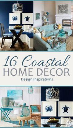 16 Coastal Home Decor Design Inspirations| Coastal Home Coastal Home Decor Home Decor DIYs Home Decor Hacks Interior Design DIY Interior Desing. #CoastalHome #DIYHomeDecor #HomeDecor #HomeDecorHacks #DIYHome #InteriorDesign