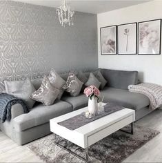 38 Ideas Home Interior Design Living Room Layout Coffee Tables For 2019 Living Room Decor Cozy, Living Room Grey, Home Living Room, Interior Design Living Room, Living Room Designs, Living Room Ideas Grey And White, Living Dining Combo, Living Room Inspiration, High Gloss