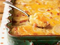 Country Potatoes au Gratin | Savory, sharp, and always available, Cheddar cheese is a great choice to use in appetizers, breads, casseroles, and even desserts.