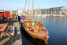 Nieuwe HD 2, gebouwd, en te water gelaten in Den Helder.