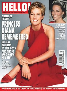 HELLO! (@hellomag) on Twitter: Diana, Princess of Wales (and the Duchess of Cambridge) on the cover of Hello! August 28, 2017