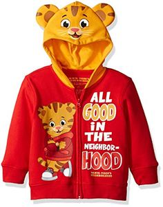 Daniel's Tiger Neighborhood Toddler Boys' Daniel Costume Hoodie, Red, Is your little one a fan of Daniel tiger's neighborhood they will surely enjoy this costume hoodie Toddler Boy Costumes, Cute Baby Halloween Costumes, Panda Costumes, Halloween Kids, Spooky Costumes, Halloween Parties, Homemade Halloween, Baby Costumes, Daniel Tiger Costume