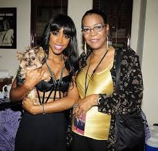 Kelly Rowland with her mother #MothersDay