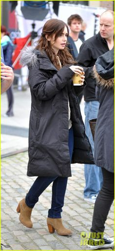 love rosie lily collins | Love Rosie Movie Set » Shadowhunters.it