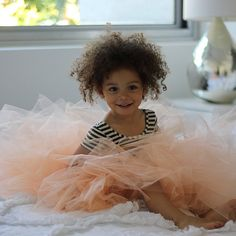 DIY floor length tulle skirt #Skirt #TulleSkirt #DIYfashion #Fashion #Kids #KidFashion