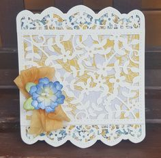 Marisa Job's Framed Floral Card Front | Creativity Continues