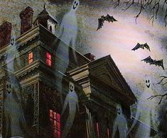 Welcome to the year-round Halloween party! (Show my personal account some love: canvasandcoffee) Halloween Horror, Halloween Town, Vintage Halloween, Happy Halloween, Gothic Horror, Horror Art, Spooky Scary, Creepy, Halloween Poster