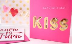 #MeriMeri Treat Bags | Cupid is Stupid Galentines Girl's Night Valentine's Day Ideas from AmysPartyIdeas.com & #swoozies