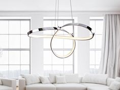 Nowoczesne lampy ledowe do salonu, jadalni, kuchni
