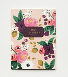 Hostess Gift!  Vintage Blossom Notebook Set