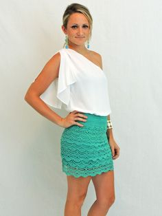 Lace Skirt!! LOVE!