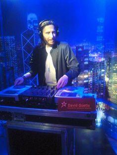 David Guetta w Muzeum Figur Woskowych w Sopocie