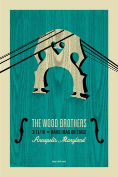 Wood Brothers Print 12x18