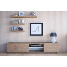 MUEBLE TV NORDIC 232 Tv Furniture, Living Room Furniture, Home Interior Design, Interior Decorating, Rack Tv, Muebles Living, Apartment Projects, Living Room Tv, Scandinavian Furniture