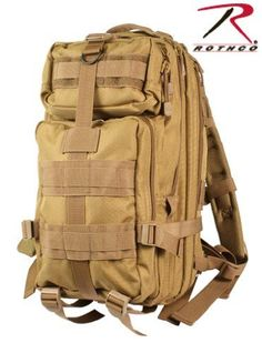 a01b000c05 Coyote Tan Military MOLLE Medium Transport Backpack Sale 50%. Now only   40.95  nightvisionmilitary